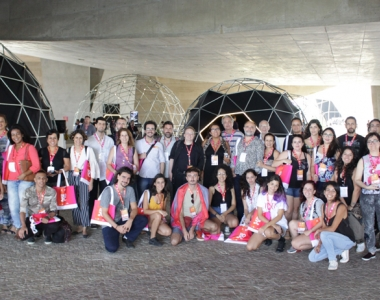 Students and teachers at Rio2C